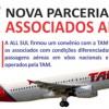 Descontos em passagens aéreas da TAM para contabilistas