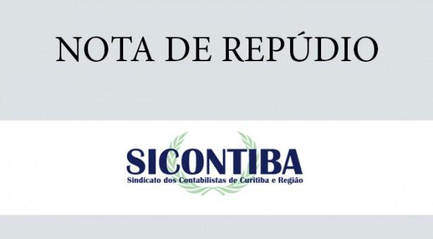 Sicontiba repudia a desfiguração das Medidas Anticorrupção