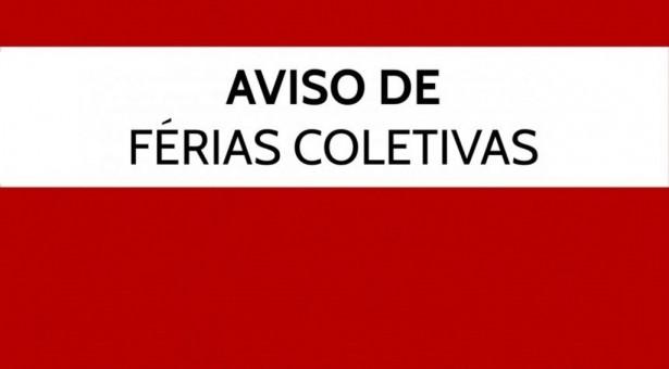 Comunicado – Férias Coletivas Sicontiba – 21/12/2018 a 02/01/2019