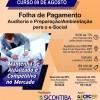 Curso 09/Agosto: Folha de Pgto – Auditoria e Preparação/Ambientação para o eSocial