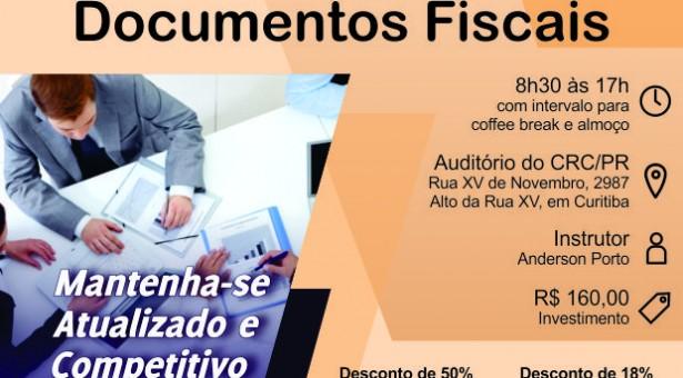 Curso 23/Outubro: Emissão e Análise de Documentos Fiscais