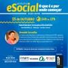 Workshop eSOCIAL 15 de outubro entrada 1 Lenço de cabelo para a campanha Outubro Rosa