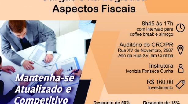 Curso 08/Agosto: ICMS e ISS no Transporte de Cargas e na Logística – Aspectos Fiscais