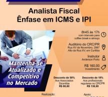 Curso 17/Setembro: Analista Fiscal – Ênfase em ICMS e IPI