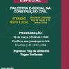 19/03 Convite Palestra eSocial na Construção Civil