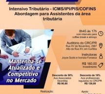 Curso 13/Novembro: Intensivo Tributário – ICMS/IPI/PIS/COFINS – Vale 7 pontos EPC