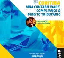 Última OPORTUNIDADE de ingressar no MBA Contabilidade, Compliance e Direito Tributário