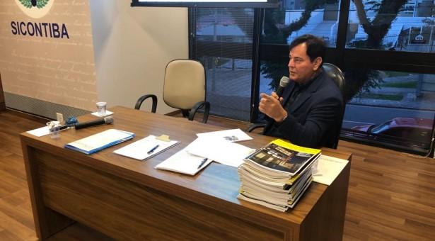 Última Reunião de Diretoria da Gestão 2017 2019 do Sicontiba é marcada por homenagens ao presidente Hugo