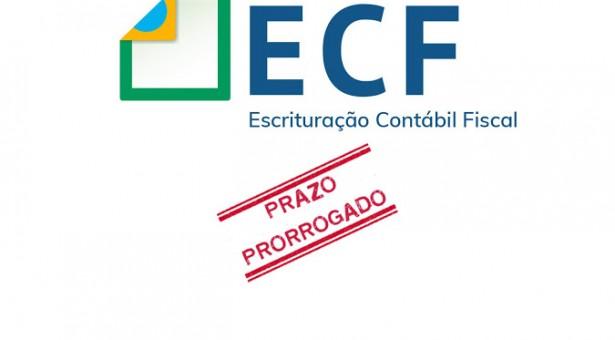 ECF – Entrega prorrogada para setembro