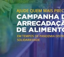 Faça parte da Campanha de ARRECADAÇÃO DE ALIMENTOS Sicontiba e Solução Digital