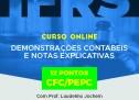 Treinamento de DEMONSTRAÇÕES CONTÁBEIS E NOTAS EXPLICATIVAS – Vale 12 pontos no programa EPC