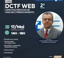 Curso pontuado PEPC – DCTF WEB – On-line 17 de maio ao vivo – R$ 90,00