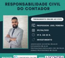 Curso RESPONSABILIDADE CIVIL do CONTADOR – 09 de junho – AO VIVO on-line