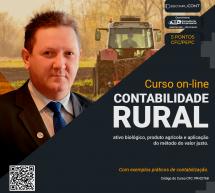 CONTABILIDADE RURAL – Curso on-line GRAVADO e PONTUADO no programa EPC