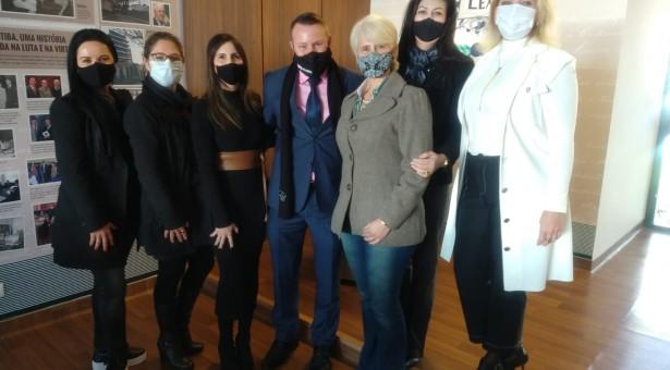 SICONTIBA e IPMCONT se reúnem para tratar de assuntos de interesse das Mulheres Contabilistas paranaenses