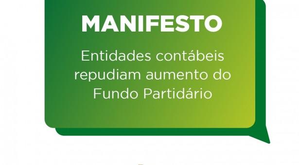 Sicontiba participa de Manifesto de entidades contábeis contra o aumento do Fundo Partidário