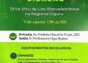 ECO Cidadão – Drive-thru de Lixo Eletrônico na Regional Cajuru – 7 de agosto