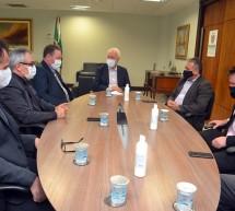 Sicontiba e Entidades contábeis unidas se reúnem com vice-governador do PR para solicitar isenção de multas e juros relativos ao ICMS
