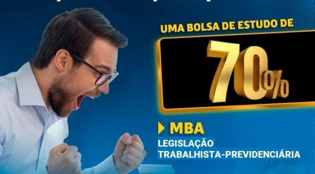 Participe do sorteio da BOLSA de 70% de desconto da BSSP para o MBA Legislação Trabalhista-Previdenciária – Turma Curitiba
